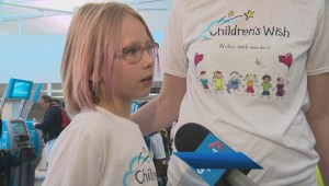 Alberta girl gets trip of a lifetime thanks to Children's Wish Foundation